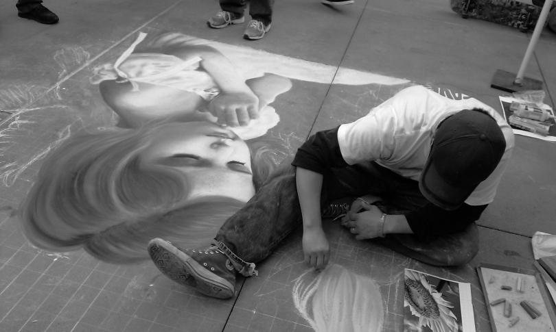 pasadena chalk bw